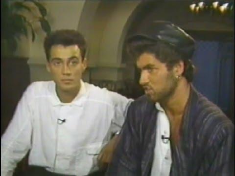 1985 GEORGE MICHAEL interview on MTV