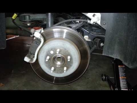 how to change brake pads on ford territory