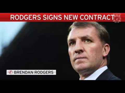 Brendan Rodgers Exclusive Interview After signing a NEW Contract With Liverpool -
