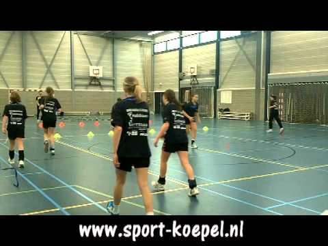15 Handbalschool NHN looptraining 9 februari 2011 deel 3