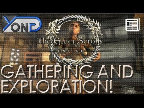 The Elder Scrolls Online - Gathering and Exploration Trailer ANALYSIS!