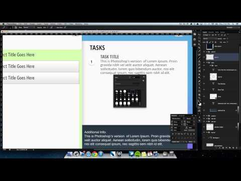 Designing an Application in Photoshop - Part 02