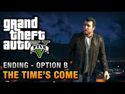 GTA 5 - Ending / Final Mission #2 - The Time's Come (Option B)