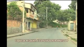 Toque de recolher � espalhado pelo Whatsapp em tr�s bairros da Regi�o Nordeste de BH