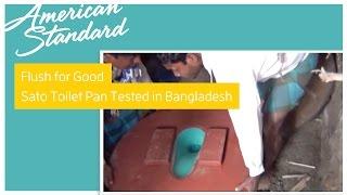 Flush For Good: American Standard's Sanitary Toilet Pan