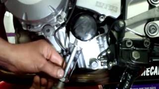 Cambio aceite y filtro de moto
