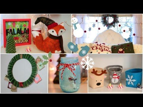 DIY Holiday room Decorations + Easy ways to decorate/organize!- DIY Karácsonyi egyszerű dekorációk