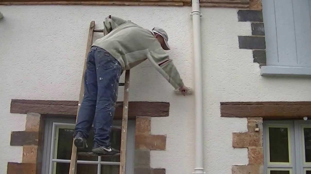 Decaper une facade peinte maison design for Peindre sa facade
