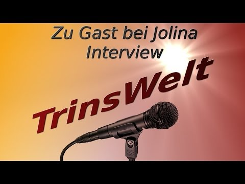 Zu Gast bei Jolina Hawk #42 TrinsWelt (Let's Player Interview)