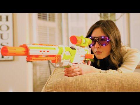 Nerf Gun War - Snipers vs Grizzly Gang