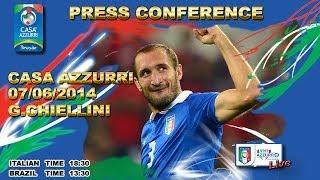 Chiellini - Conferenza stampa Live