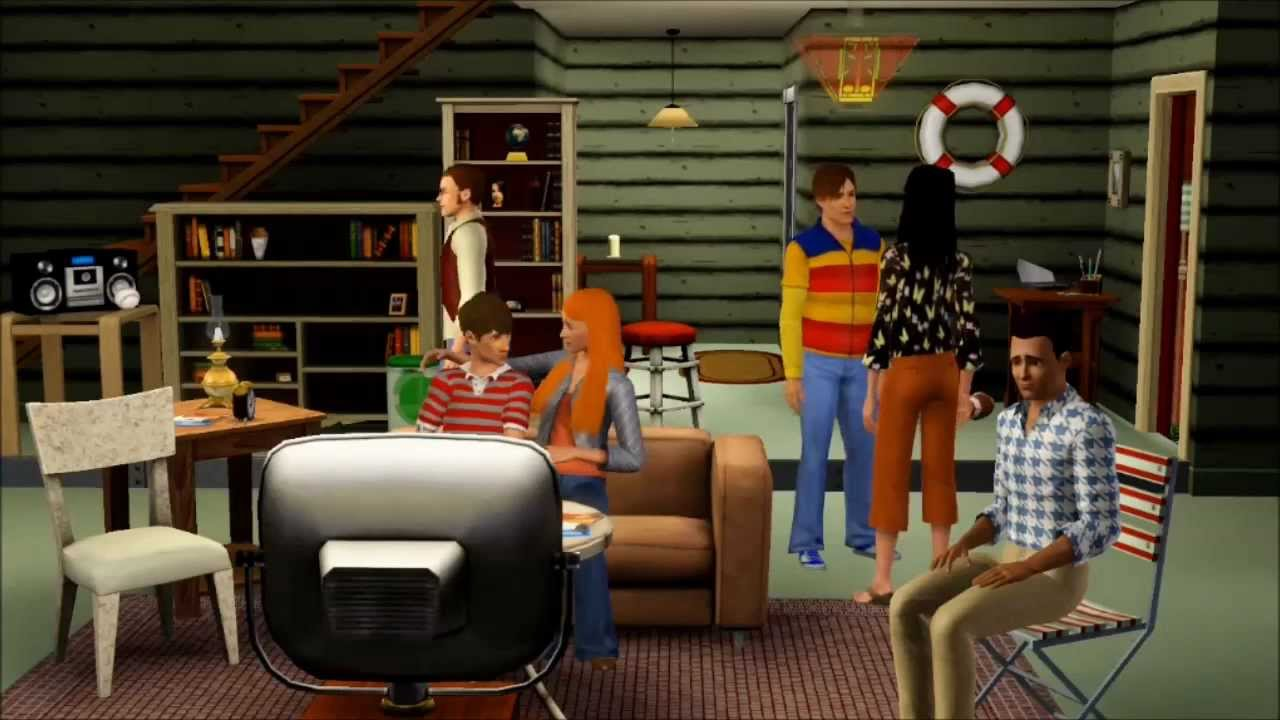 That 70s Show The Forman House Sims 3 Youtube