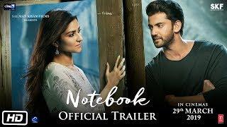 Notebook | Official Trailer | Pranutan Bahl | Zaheer Iqbal | Nitin Kakar | 29th Mar 2019