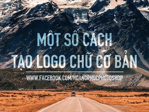 Thiết kế logo chữ đơn giản với photoshop  | HPphotoshop.com