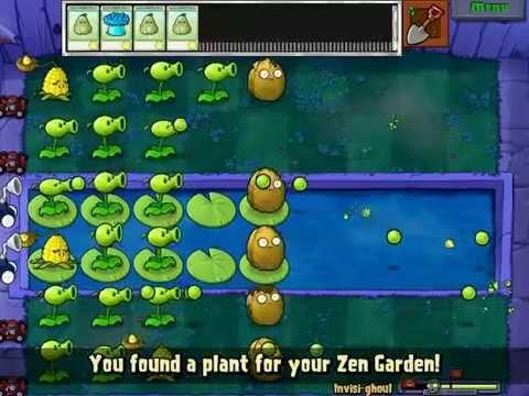 Hoa quả nổi giận | Hướng dẫn minigame invisi - ghoul plants vs zombies