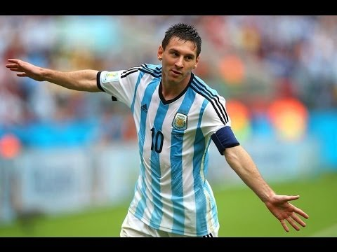 Lionel Messi All Goals in World Cup 2014
