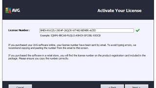 AVG Internet Security May 2014 Serial Key Till 2018