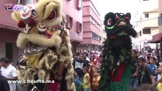 رقصات غريبة في مهرجان بوجلود بسلا  