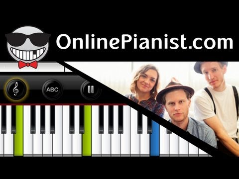 The Lumineers - Ho Hey - Piano Tutorial & Sheets