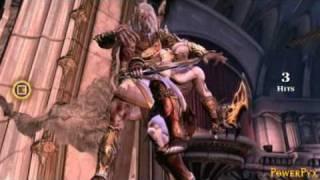 God Of War III Bossfight Zeus (Titan Diffculty)