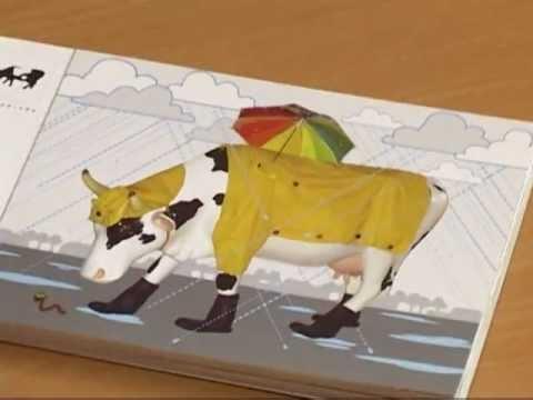 Смотреть видео В Вентспилсе  пройдет «Парад коров — 2012»
