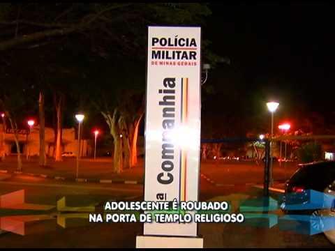 Adolescente é assaltado na área central de Uberlândia