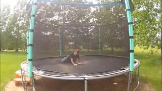 Zábava na trampolínach