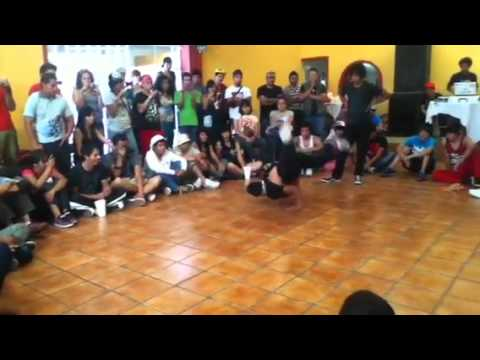 Bboy gato vs ojon battle fortress exhibicion 2011
