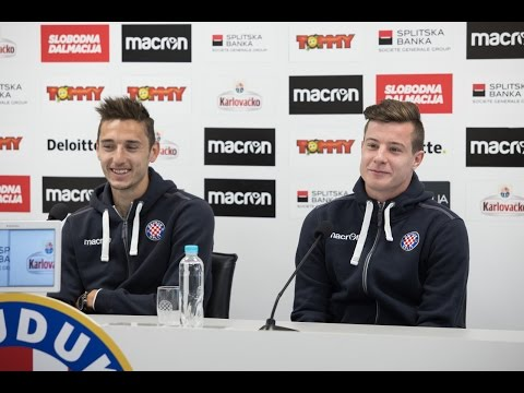 Press conference - Zoran Nižić i Zvonimir Kožulj