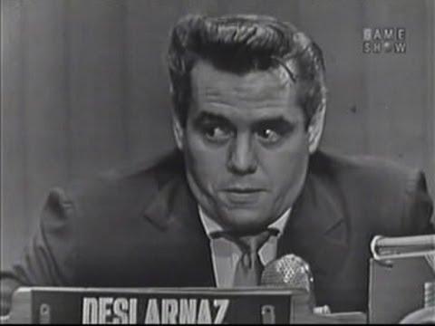 What's My Line? - Desi Arnaz (Nov 9, 1952)