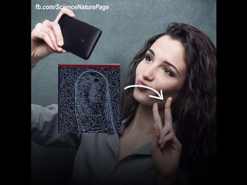 Extracting Fingerprints from Selfies