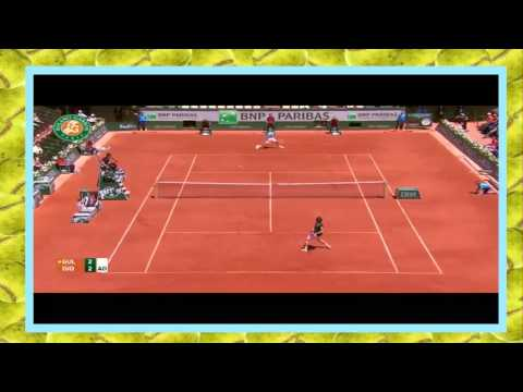 Novak Djokovic vs Ernests Gulbis Highlights French open SF 2014