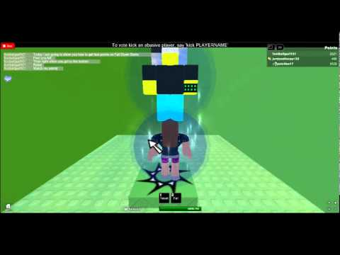 How to get Fast Points on Fall Down Stairs, http://www.roblox.com/Fall-Down-Stairs-SPRING-VERSION-place?id=6139078 After you get enough points, you can kill everyone.