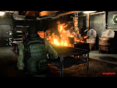 Resident evil 6 Infierno Campaña Piers Capitulo 4 Rango S
