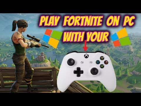 Playing With Controller On PC - Fortnite Battle Royale Gameplay ( FAIL LOL )