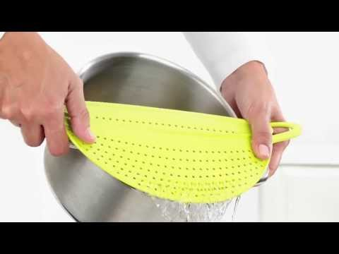 Koziol Siebfried Slimline Pan Lid Strainer
