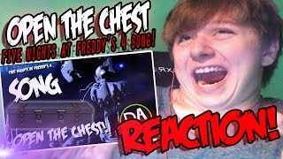 FIVE NIGHTS AT FREDDY'S 4 SONG (OPEN THE CHEST) LYRIC VIDEO REACTION! || SECRETS REVEALED! - Duration: 2:50.