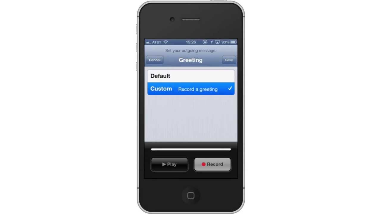 how to delete visual voicemail on iphone 5s
