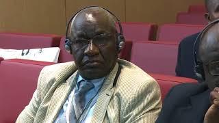 intervention du Ministre à la BAD- Lancement du programme sur les pertes post-récolte et l'agro-industrie