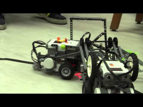 Noisy Boy vs Mr.Castor (Semi-Finals) - ISKL Advanced Robotics