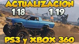 Actualizacion 1.18 Y 1.19 En GTA V Online De PS3 Y Xbox