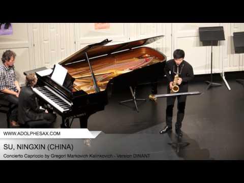 Dinant 2014 SU Ningxin Concierto Capriccio by Gregori Markovich Kalinkovich Version DINANT