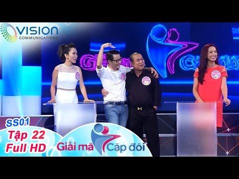 Giải mã cặp đôi: Tập 22 (23/11/2015) | Minh Khang - Thúy Hạnh | Hoàng Bách - Thanh Thảo