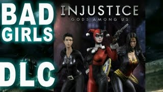 Injustice Gods Among Us Bad Girls Skin Pack