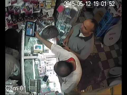 لص يسرق طابليت من محل بإنزكان لكن المفاجأة…..