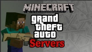 Minecraft: Grand Theft Auto Servers 1.8 (Guns, Money, Cars
