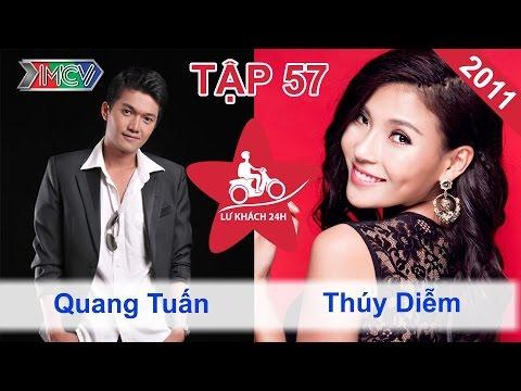 Quang Tuấn vs. Thúy Diễm | LỮ KHÁCH 24H | Tập 57 | 170411