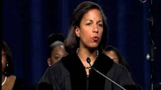 Ambassador Susan Rice at 2010 Commencement 1/3