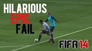FIFA 14 | GOALIE GOES FULL TARD. - HILARIOUS EPIC FAIL W/ FaceCam Reaction