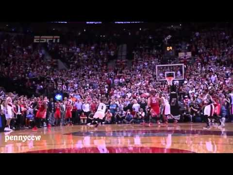 Damian Lillard's AMAZING buzzer beater kills the Houston Rockets (2014)